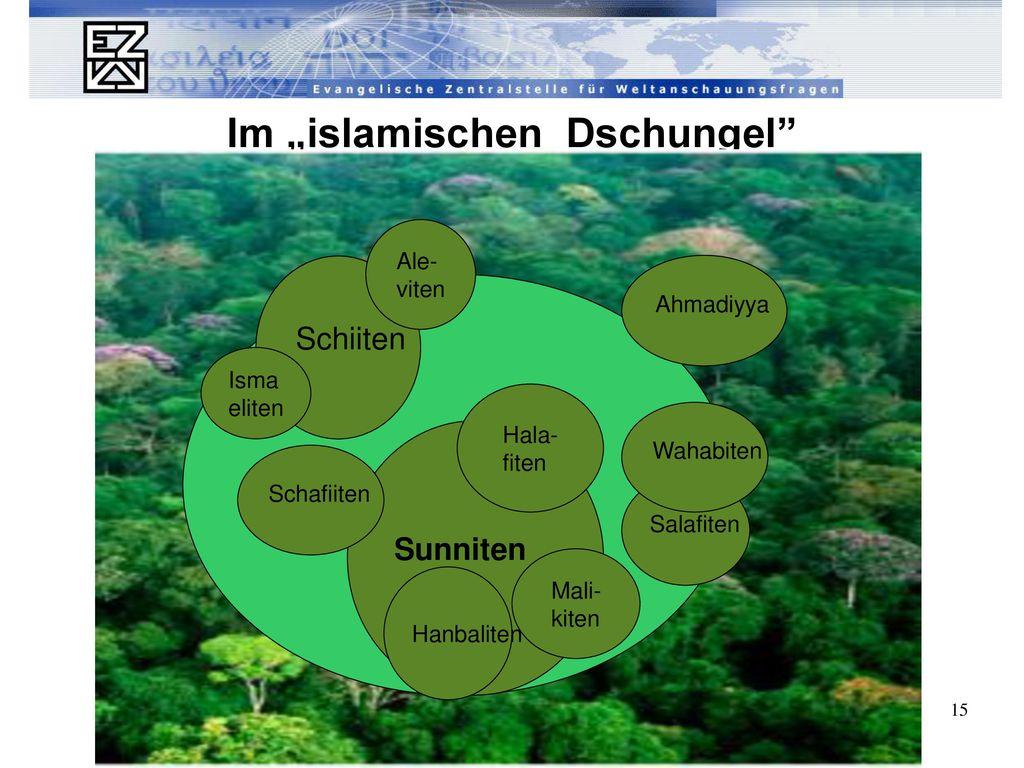 """Im """"islamischen Dschungel"""