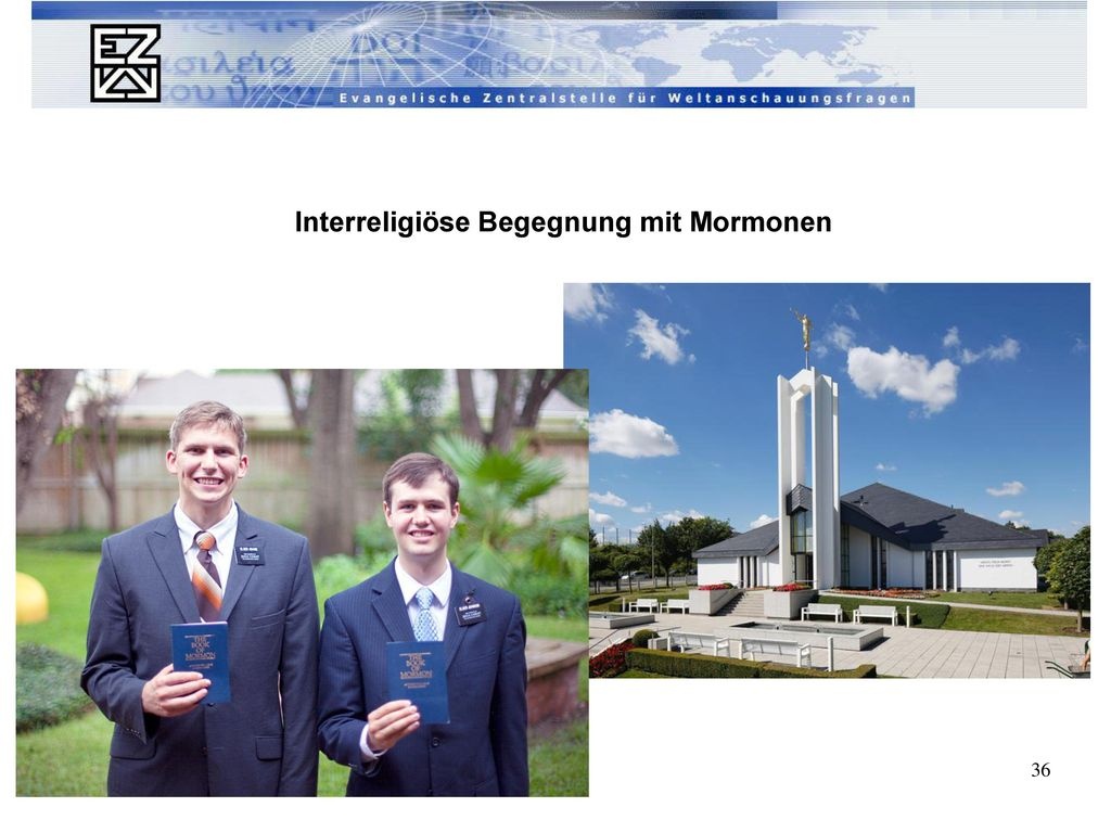 Interreligiöse Begegnung mit Mormonen