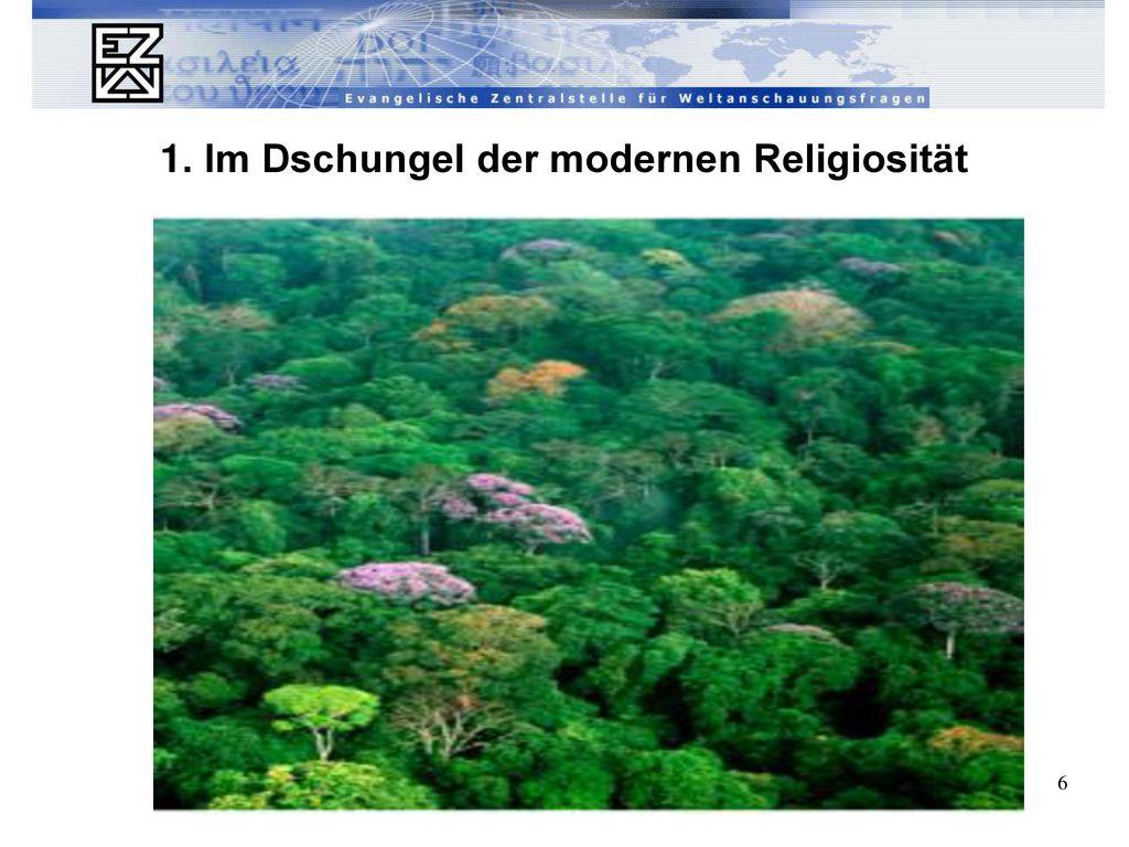 1. Im Dschungel der modernen Religiosität