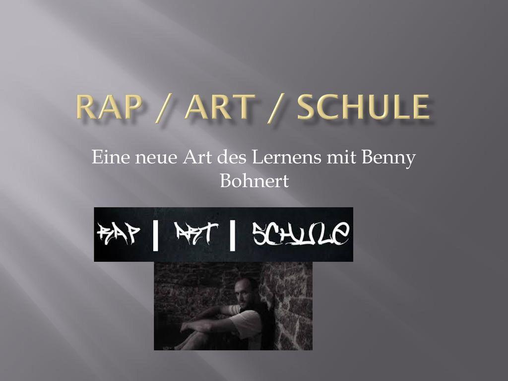 Eine neue Art des Lernens mit Benny Bohnert
