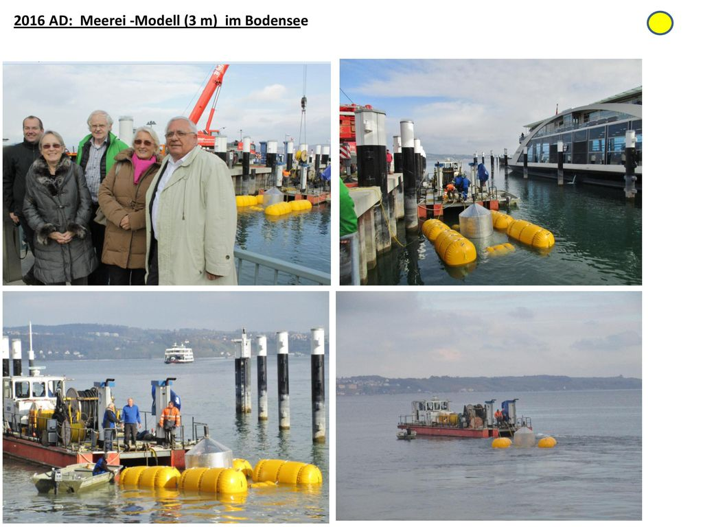 2016 AD: Meerei -Modell (3 m) im Bodensee