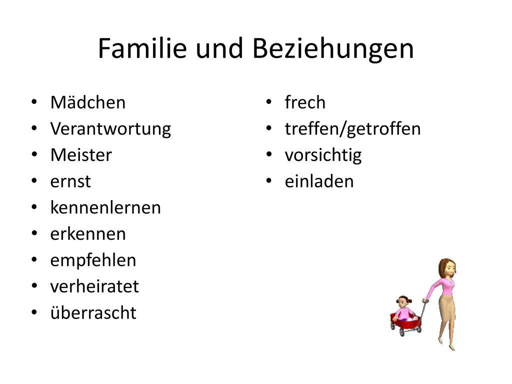 Familie und Beziehungen