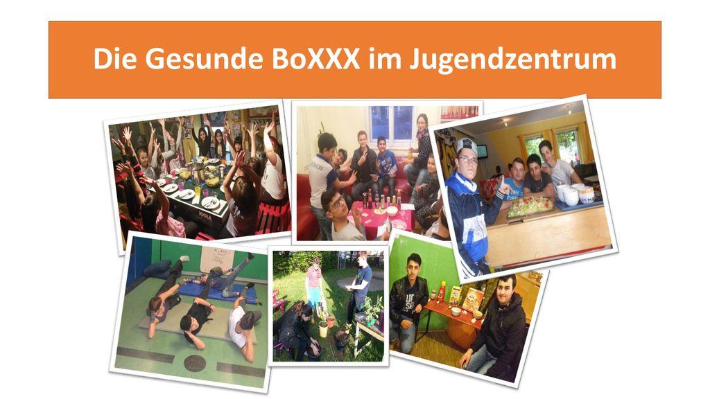 Die Gesunde BoXXX im Jugendzentrum