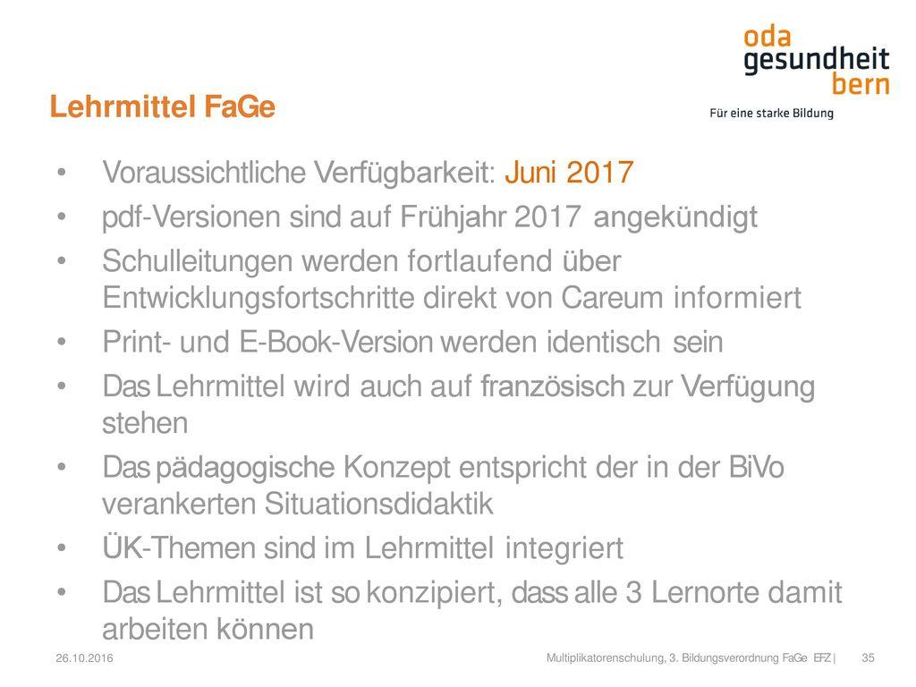 Voraussichtliche Verfügbarkeit: Juni 2017