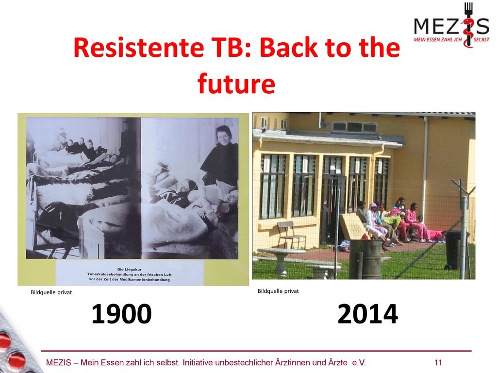 Resistente TB: Back to the future