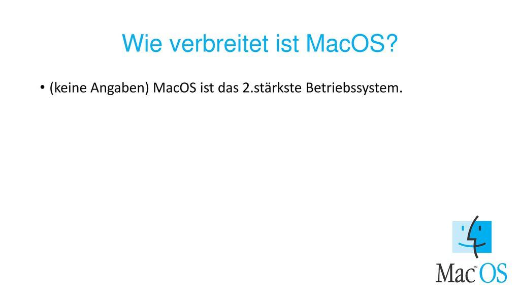 Wie verbreitet ist MacOS