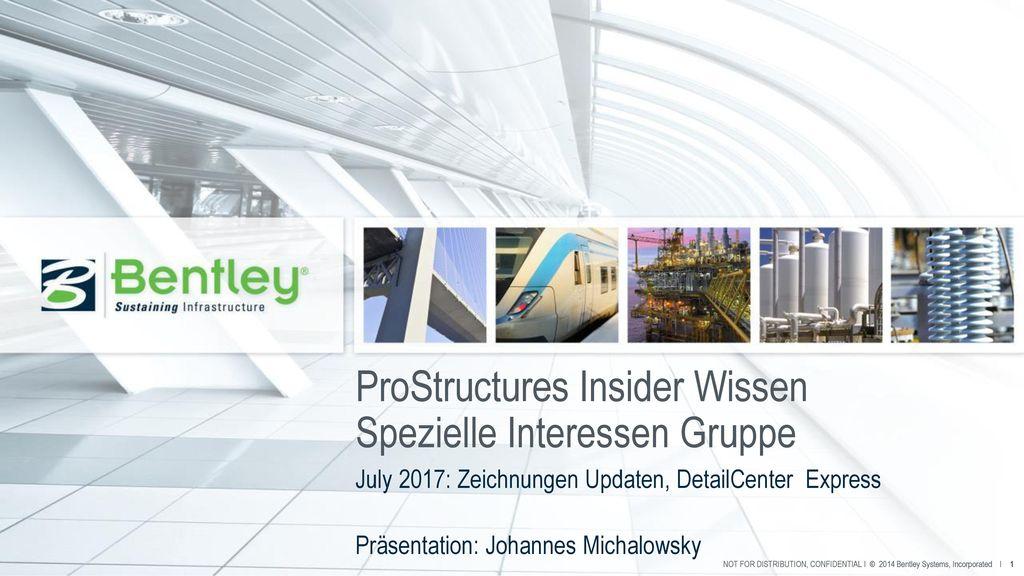 ProStructures Insider Wissen Spezielle Interessen Gruppe