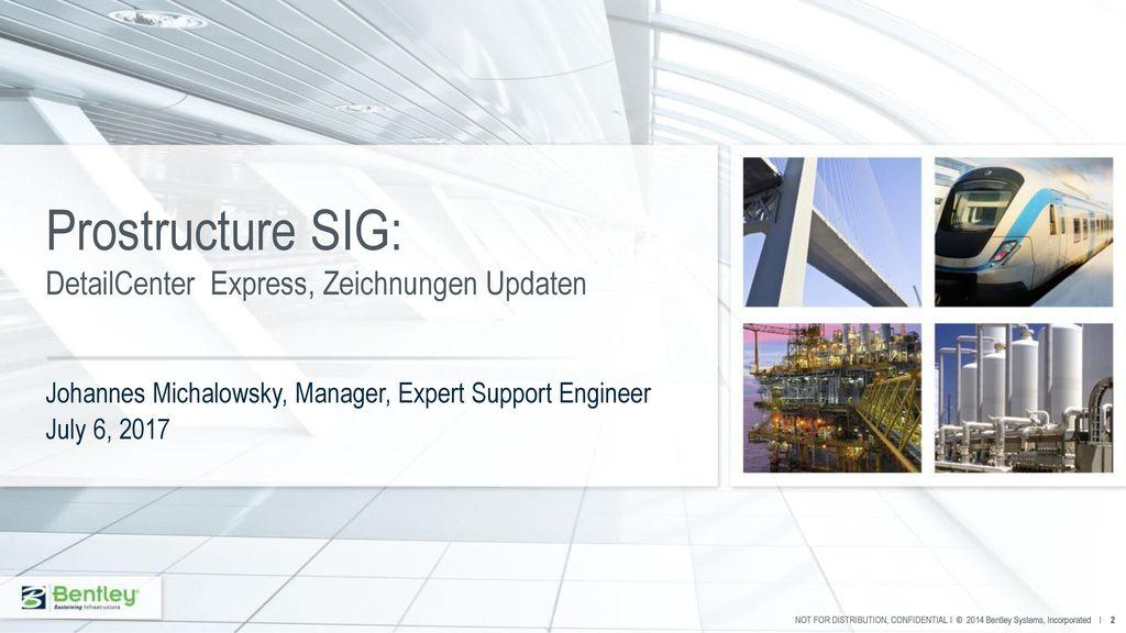 Prostructure SIG: DetailCenter Express, Zeichnungen Updaten