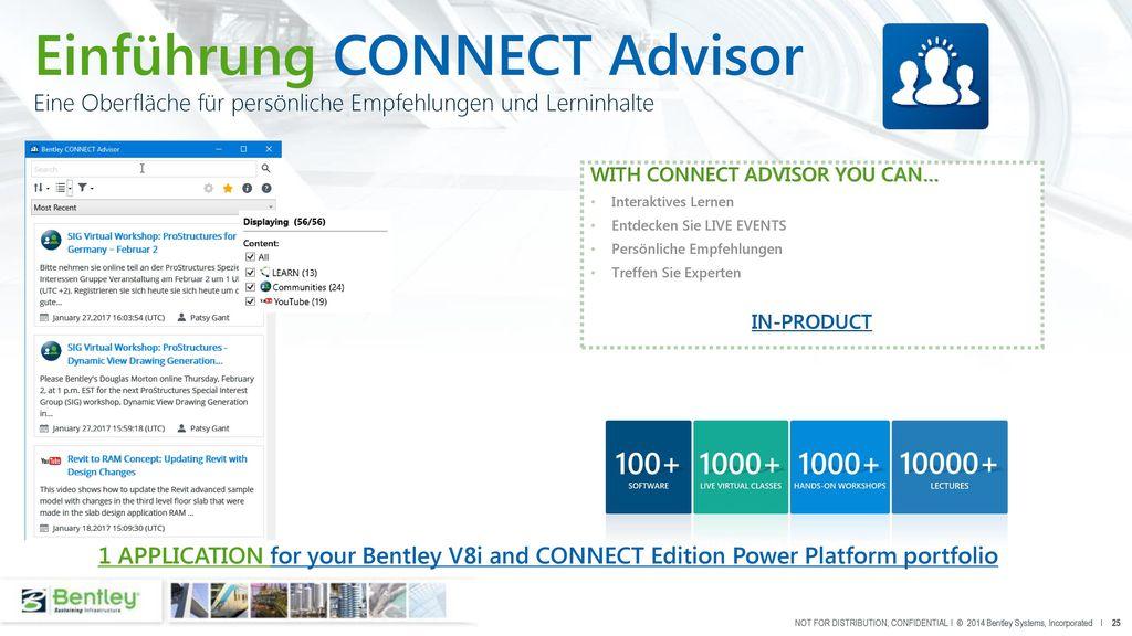 Einführung CONNECT Advisor