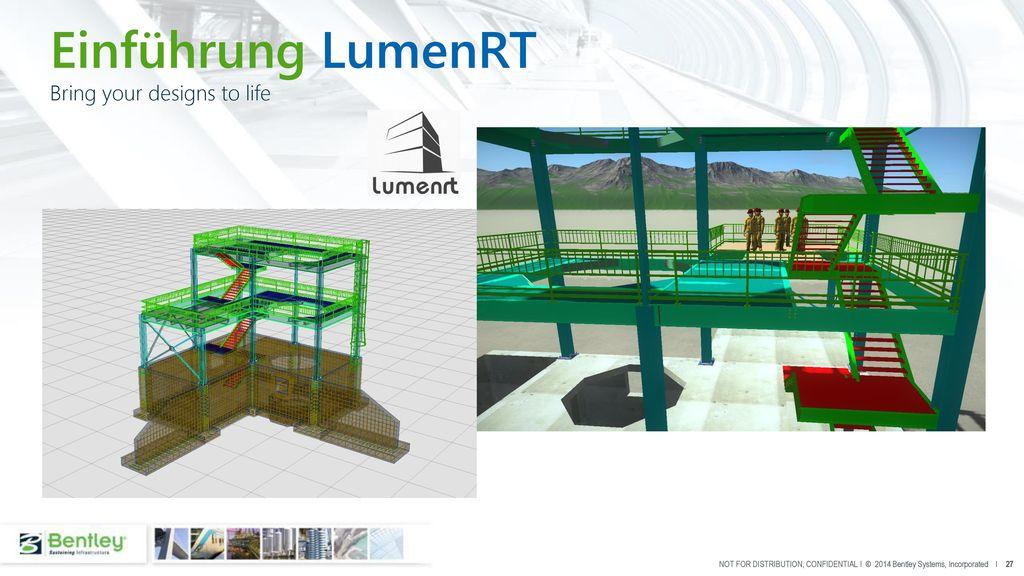 Einführung LumenRT Bring your designs to life