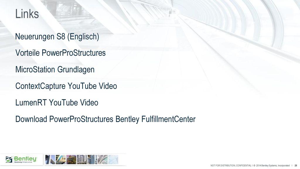 Links Neuerungen S8 (Englisch) Vorteile PowerProStructures