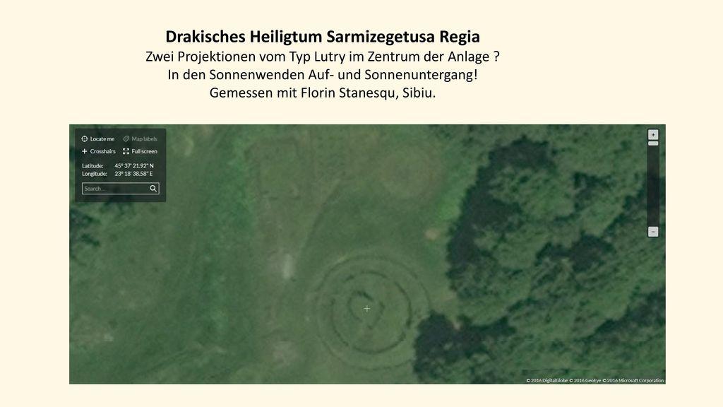 Drakisches Heiligtum Sarmizegetusa Regia