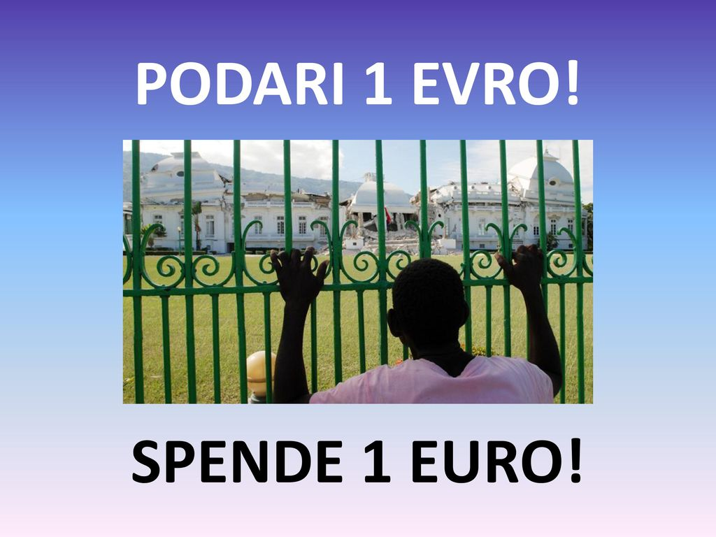 PODARI 1 EVRO! SPENDE 1 EURO!
