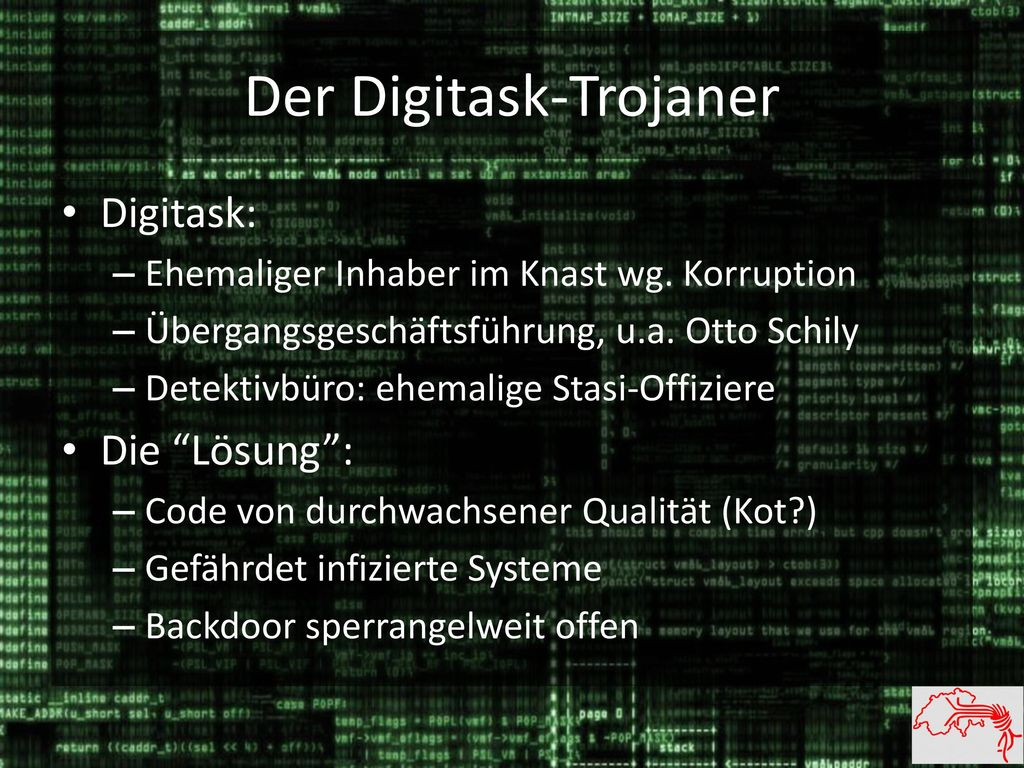 Der Digitask-Trojaner