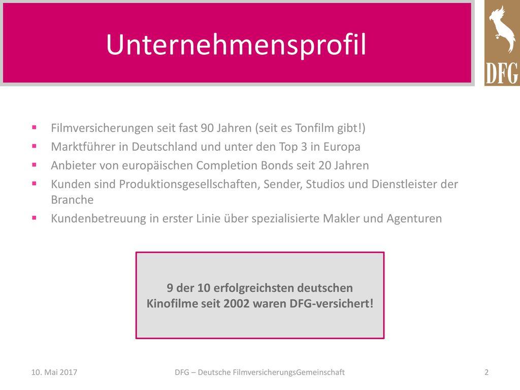 DFG – Deutsche FilmversicherungsGemeinschaft