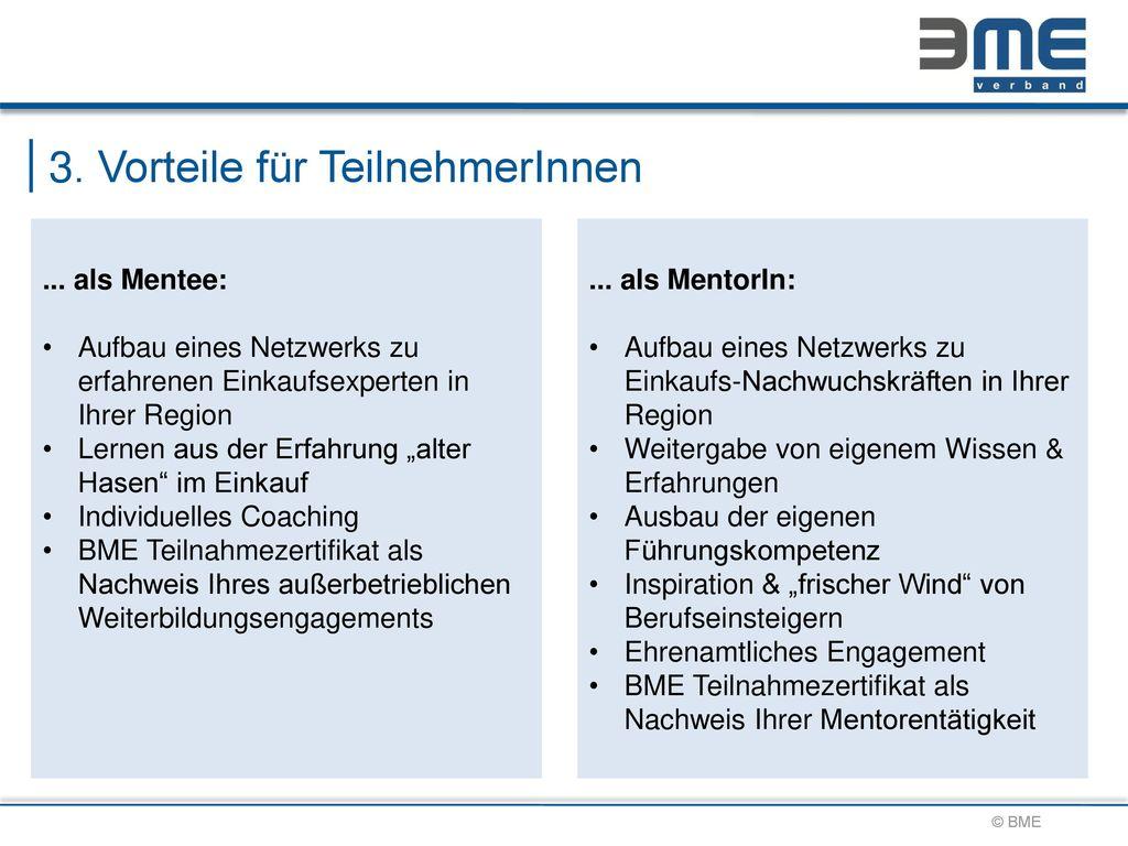 3. Vorteile für TeilnehmerInnen