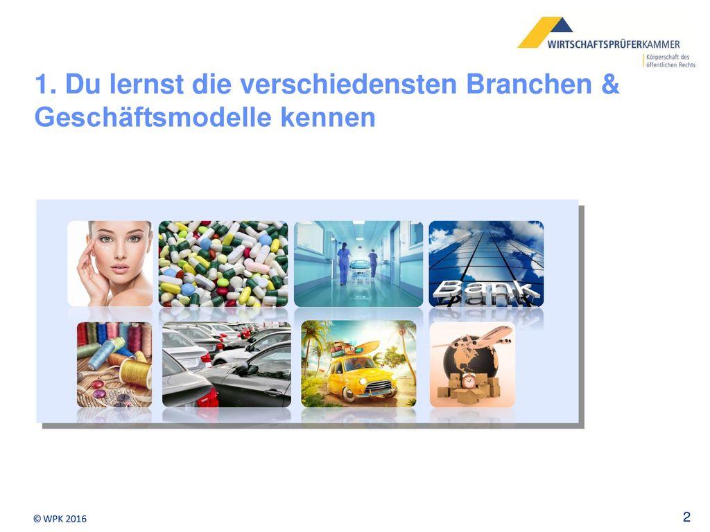 1. Du lernst die verschiedensten Branchen & Geschäftsmodelle kennen