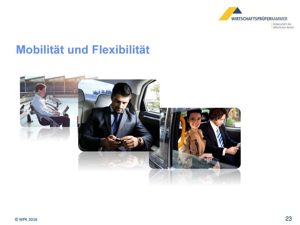 Mobilität und Flexibilität