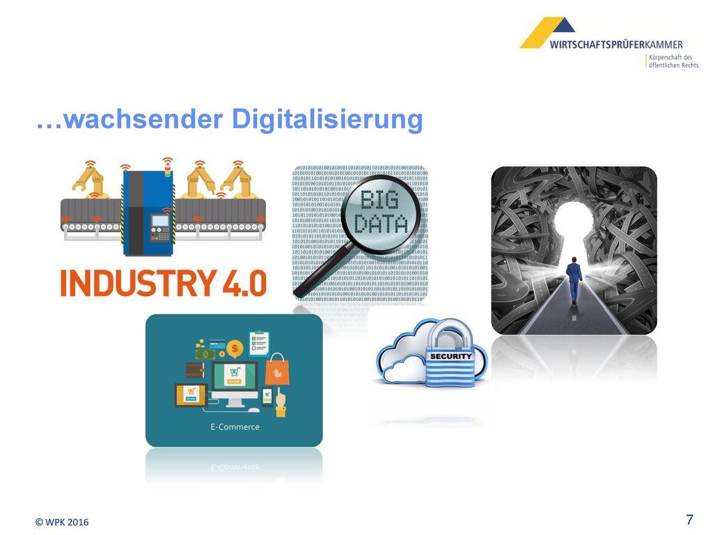 …wachsender Digitalisierung