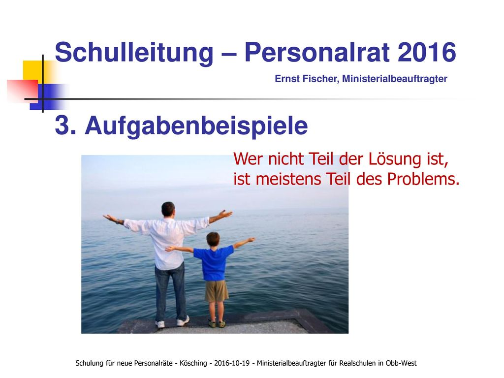 Schulleitung – Personalrat 2016