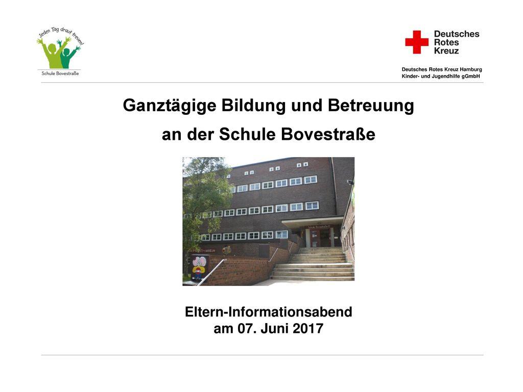 Ganztägige Bildung und Betreuung an der Schule Bovestraße
