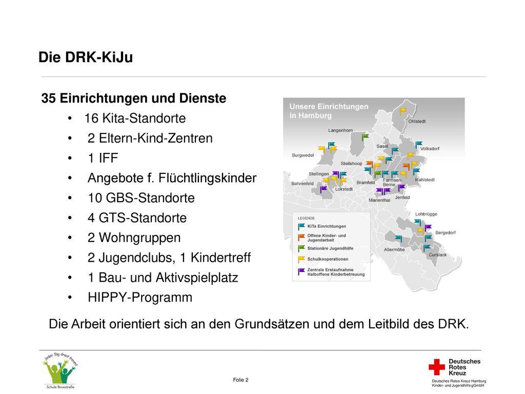 Die DRK-KiJu In den InFerien 35 Einrichtungen und Dienste