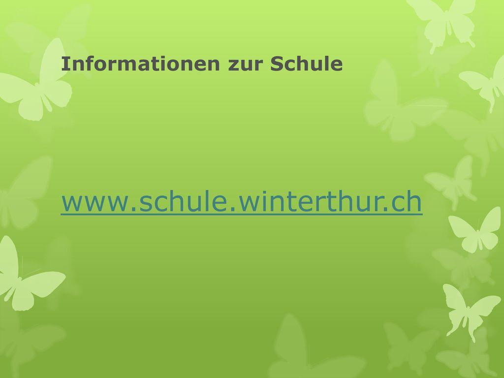 Informationen zur Schule