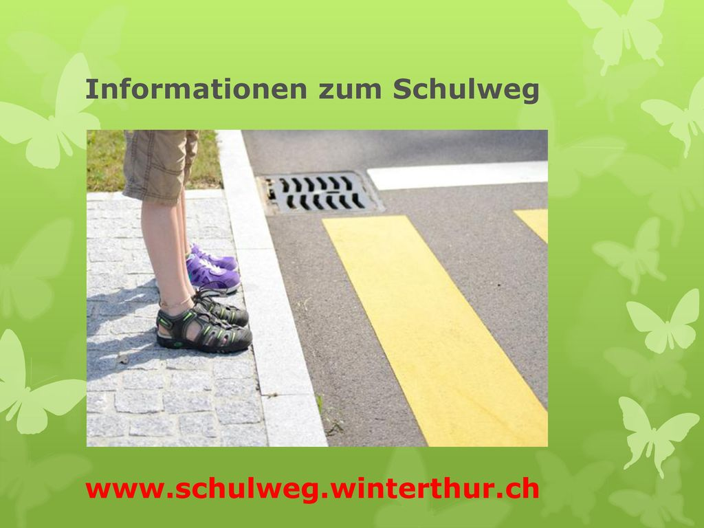 Informationen zum Schulweg