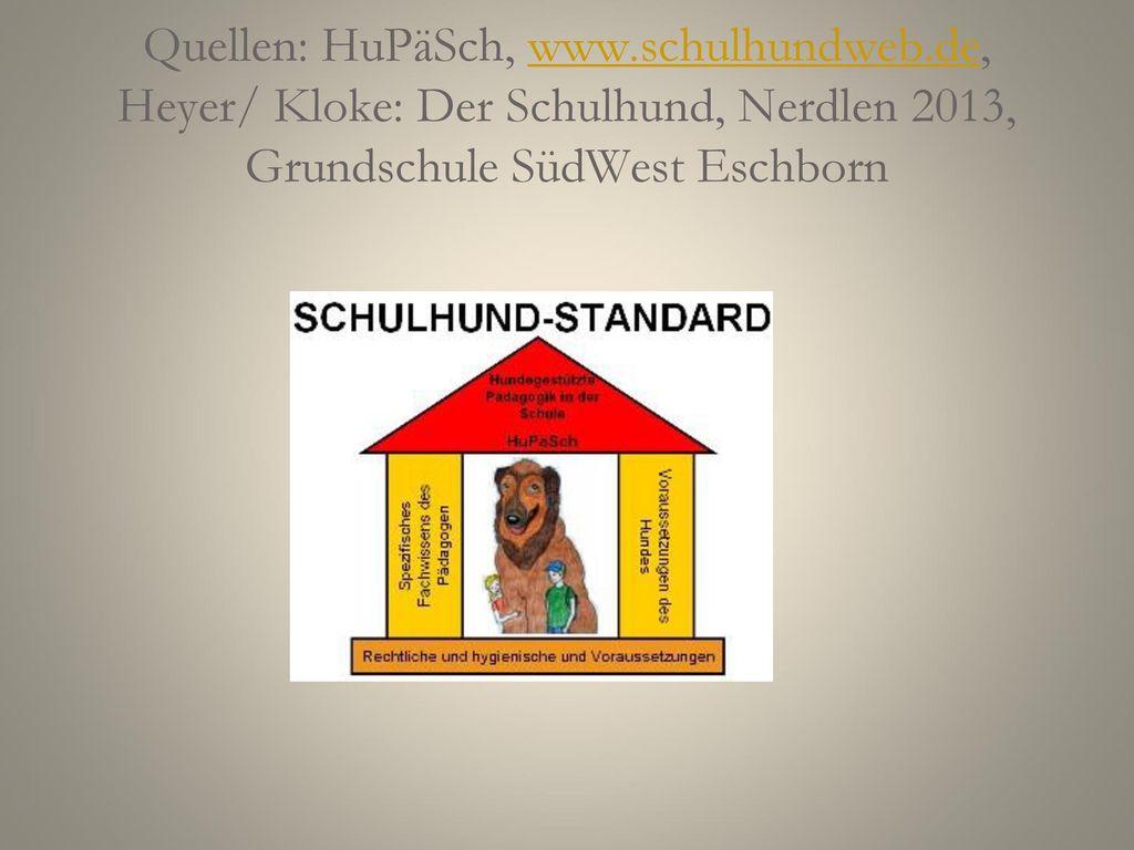Quellen: HuPäSch, www. schulhundweb