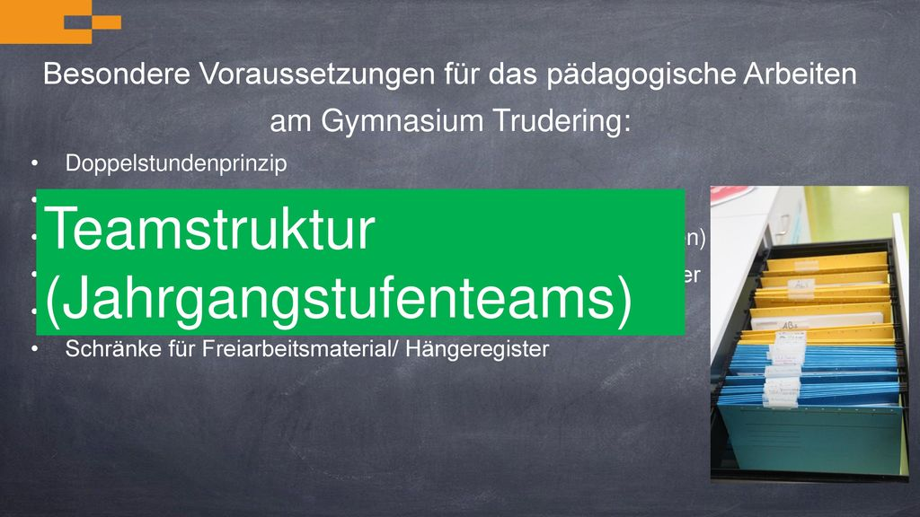 Teamstruktur (Jahrgangstufenteams)