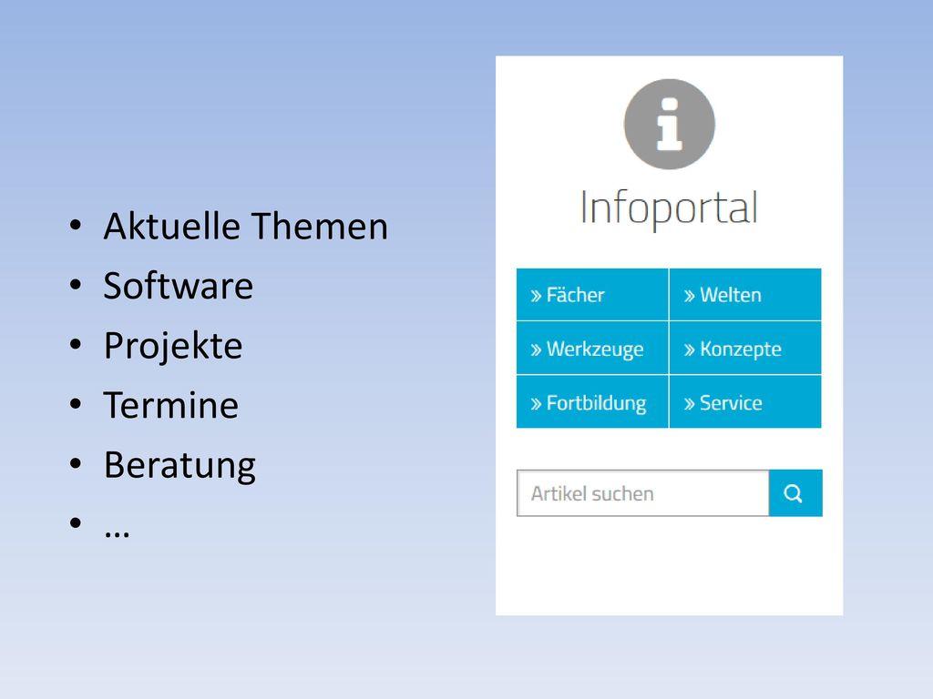 Aktuelle Themen Software Projekte Termine Beratung …