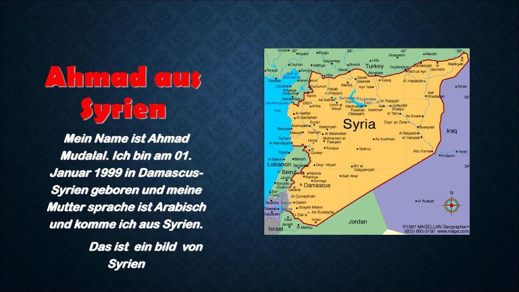 Das ist ein bild von Syrien
