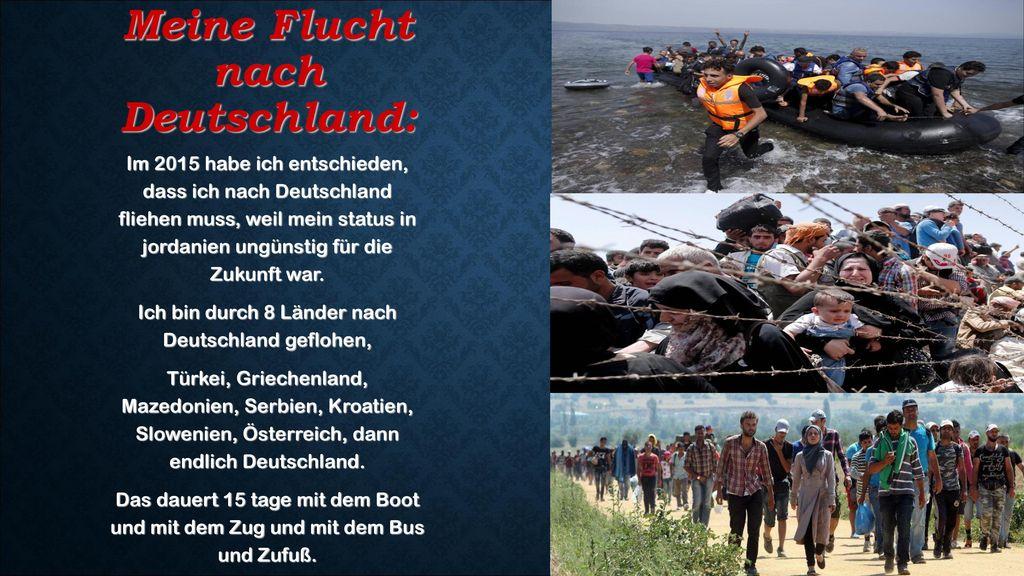 Meine Flucht nach Deutschland: