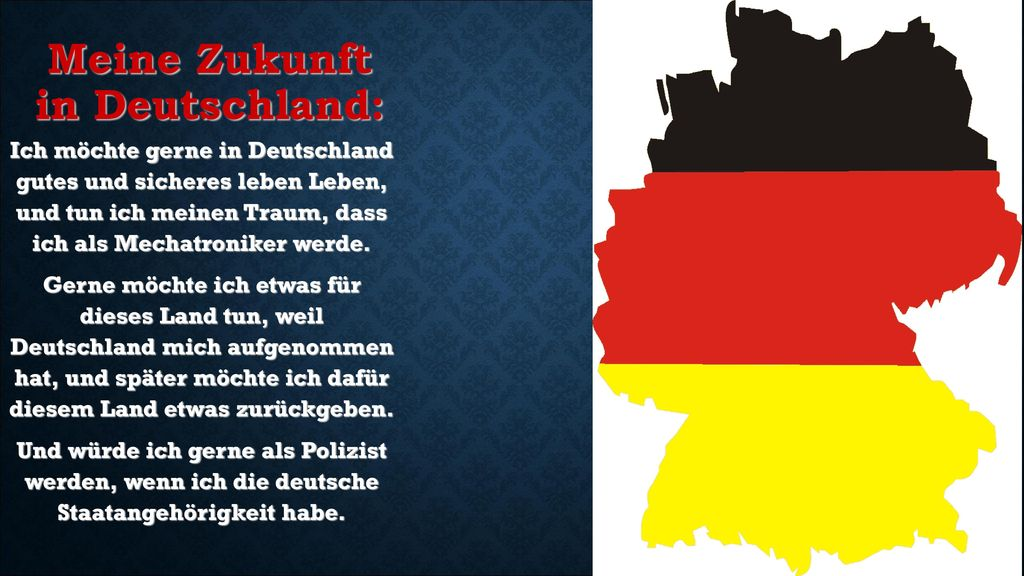 Meine Zukunft in Deutschland: