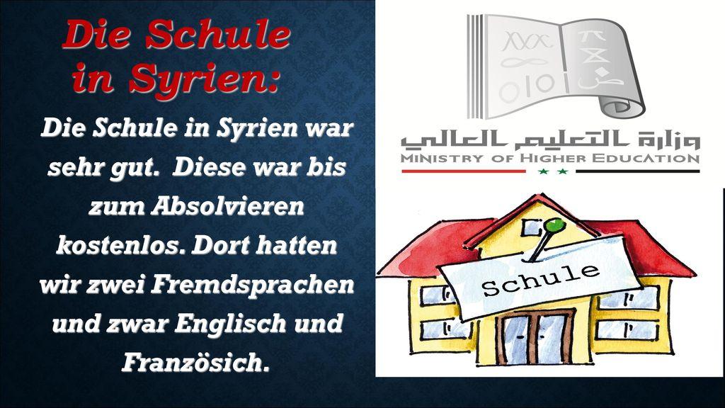 Die Schule in Syrien: