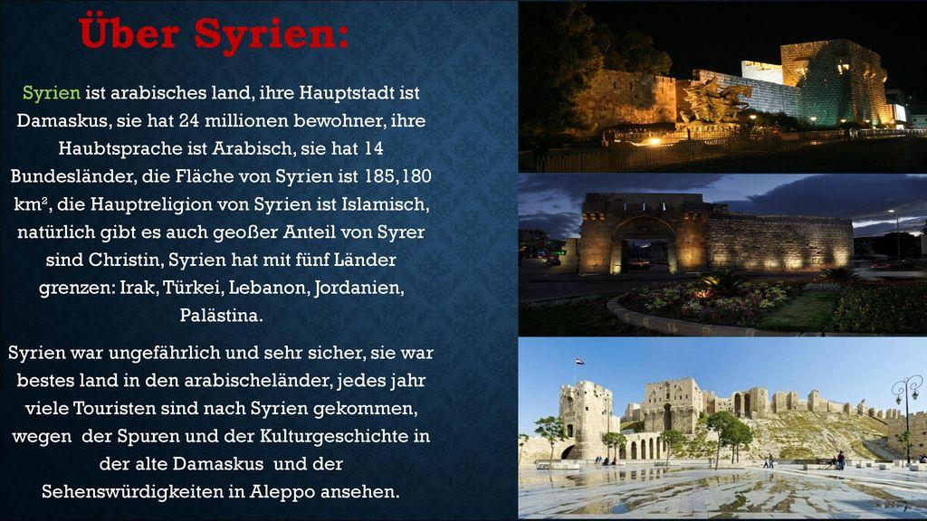 Über Syrien: