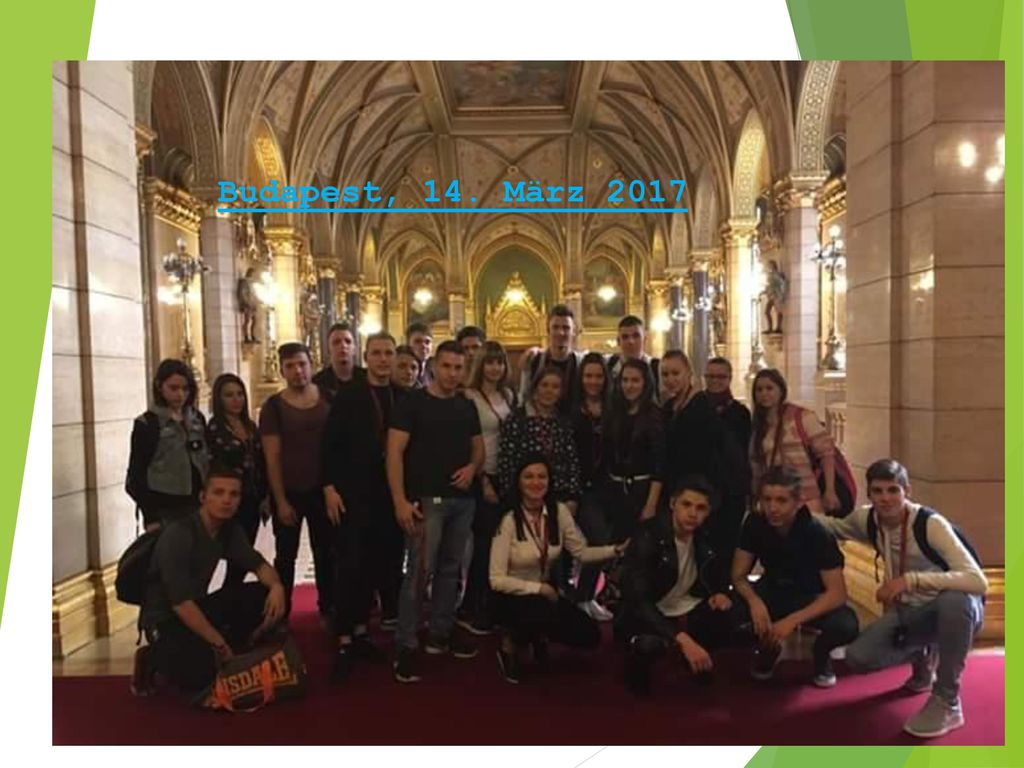 Budapest, 14. März 2017 Unsere Klassenfahrt