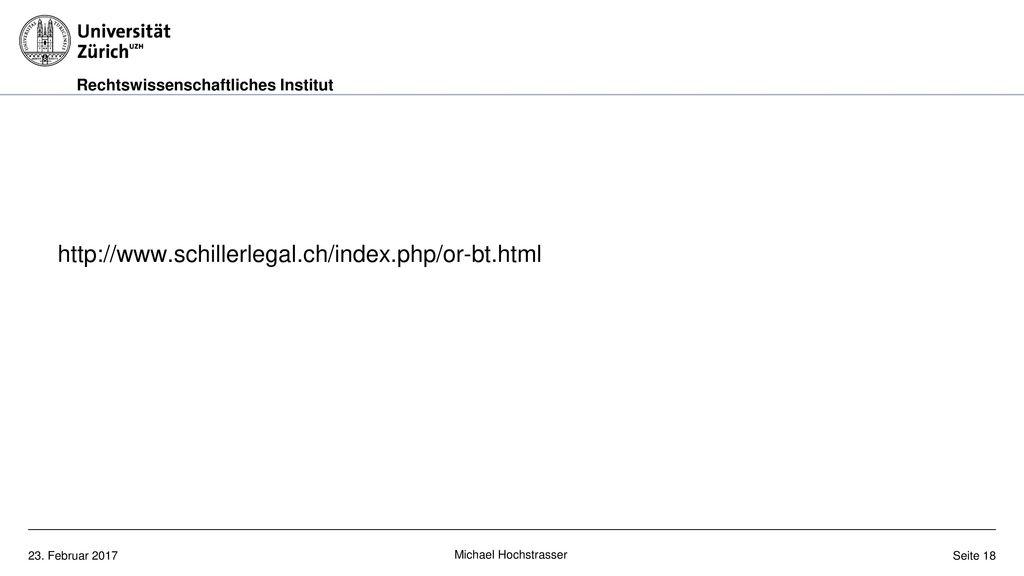 http://www.schillerlegal.ch/index.php/or-bt.html Michael Hochstrasser