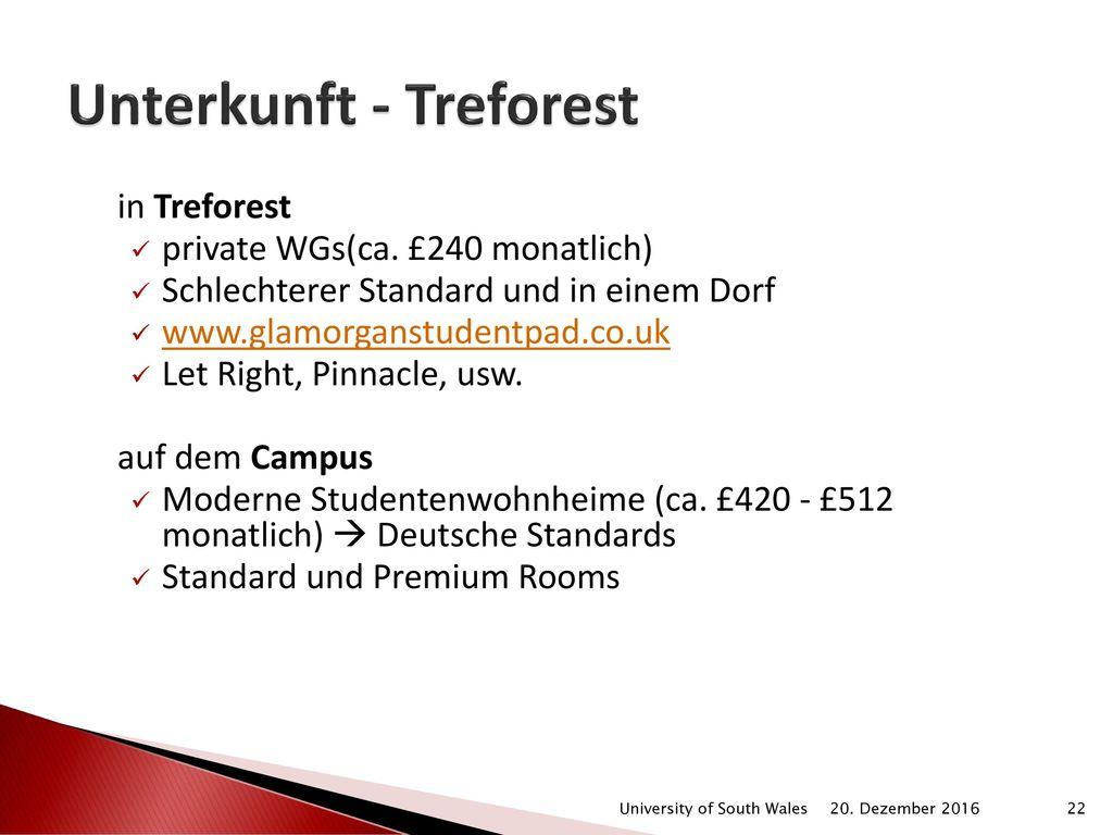 Unterkunft - Treforest