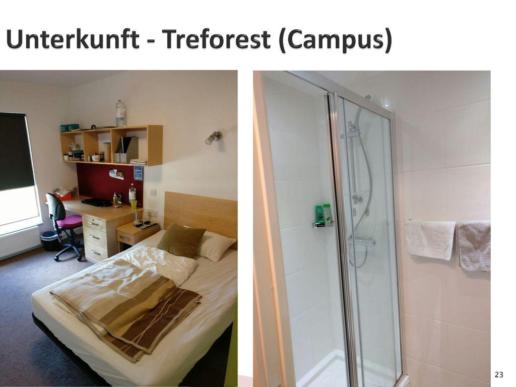 Unterkunft - Treforest (Campus)