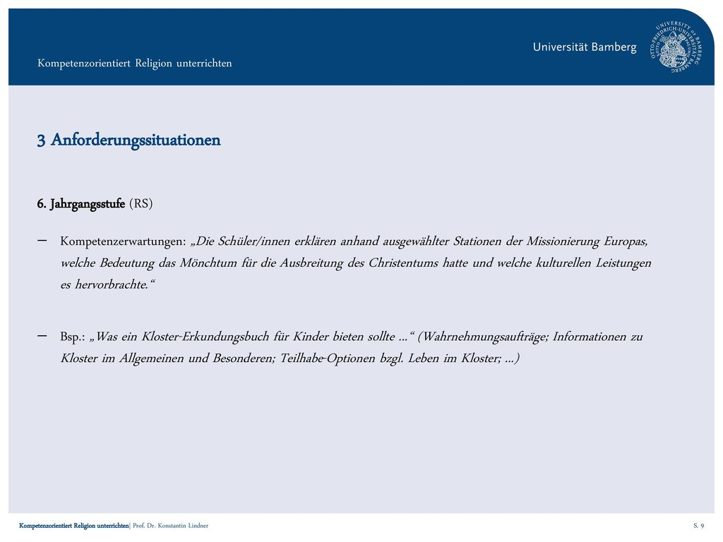 3 Anforderungssituationen