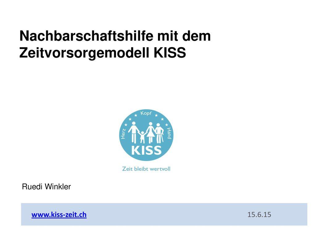 Nachbarschaftshilfe mit dem Zeitvorsorgemodell KISS