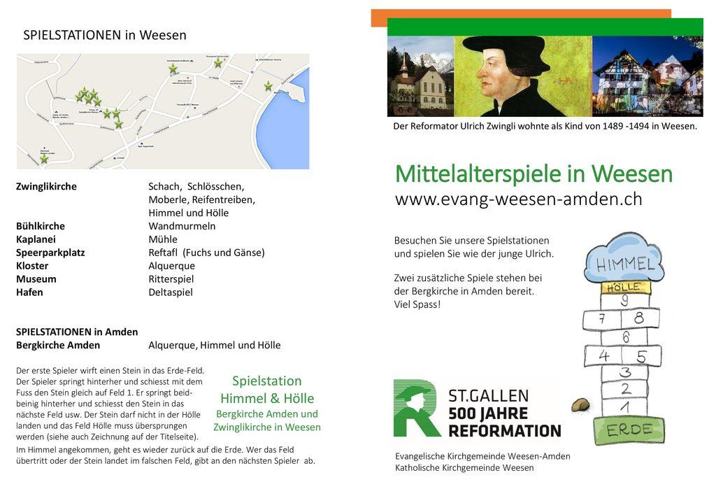 Mittelalterspiele in Weesen www.evang-weesen-amden.ch