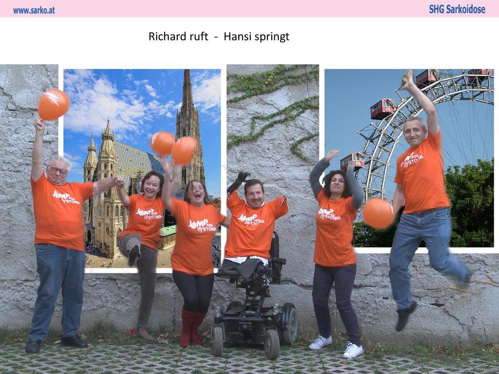 Richard ruft - Hansi springt