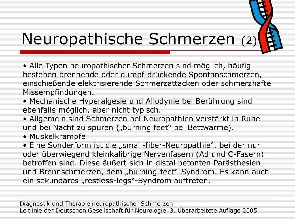 Neuropathische Schmerzen (2)