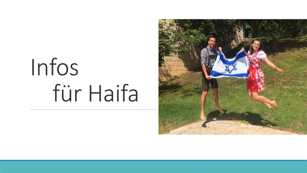 Infos für Haifa