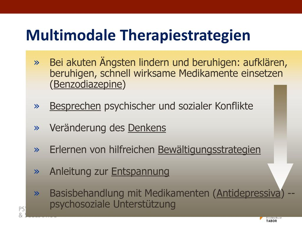 Multimodale Therapiestrategien