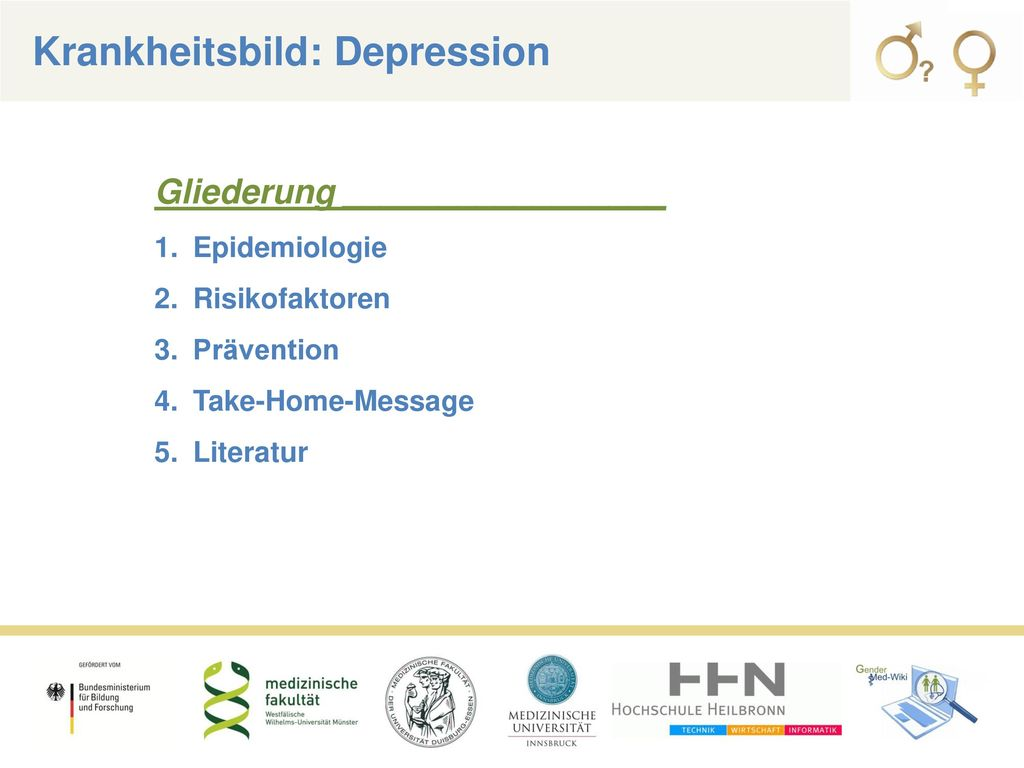 Krankheitsbild: Depression