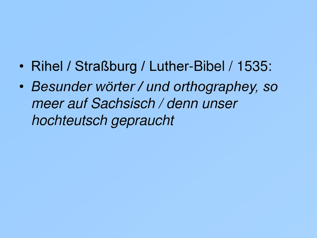 Rihel / Straßburg / Luther-Bibel / 1535: