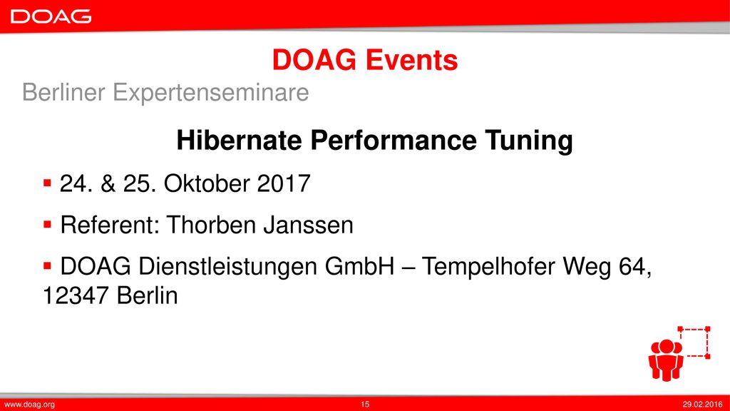 Hibernate Performance Tuning